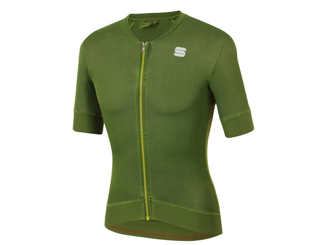 Sportful Monocrom Jersey Uomo, dry green